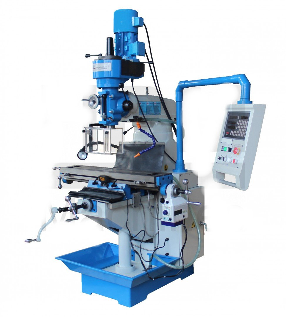 Univ. Werkzeugfräsmaschine Mit Digitalem