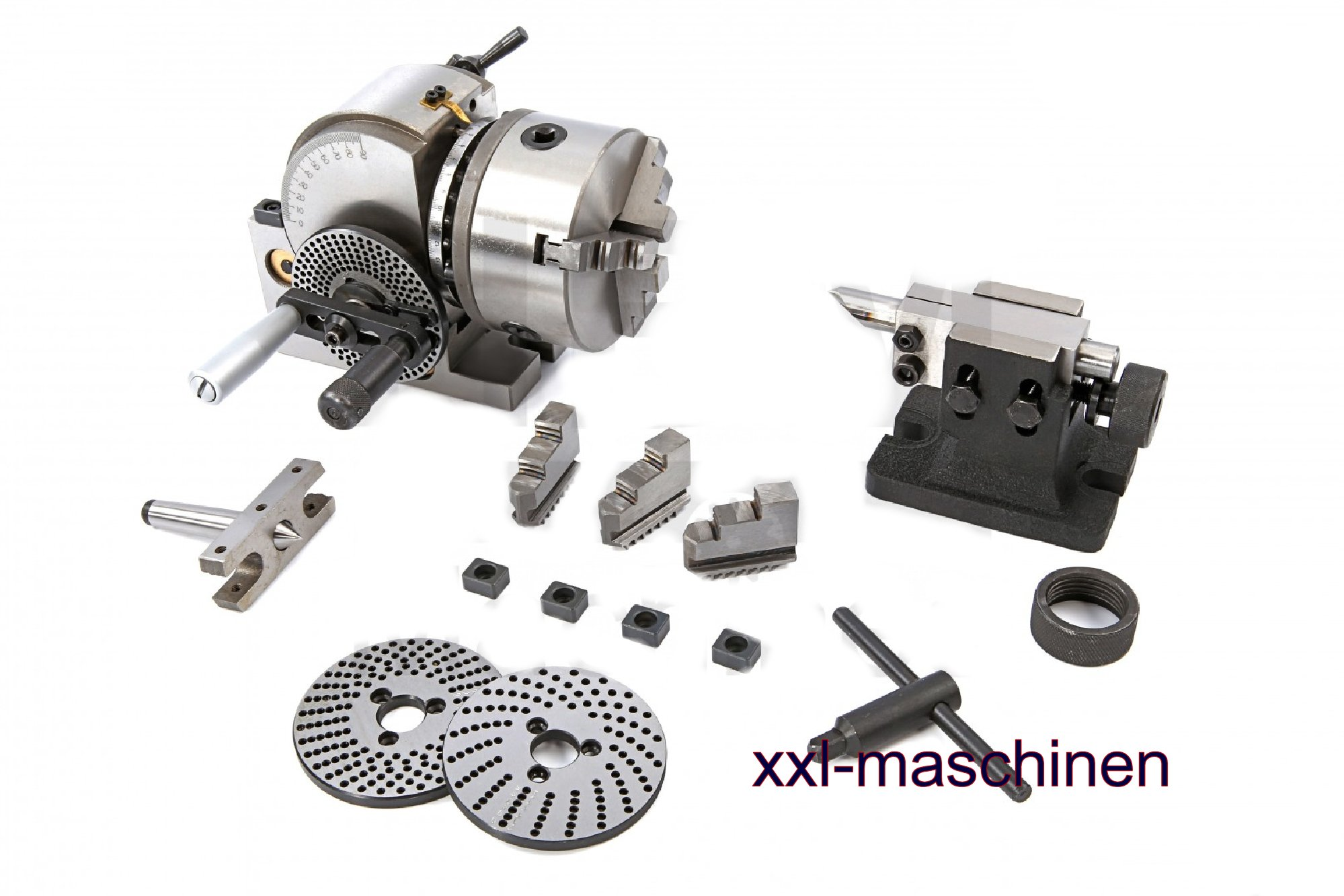 Teilapparat Rundtisch Rundteiltisch MT-2 150mm Horizontal-Vertikal Teilkopf