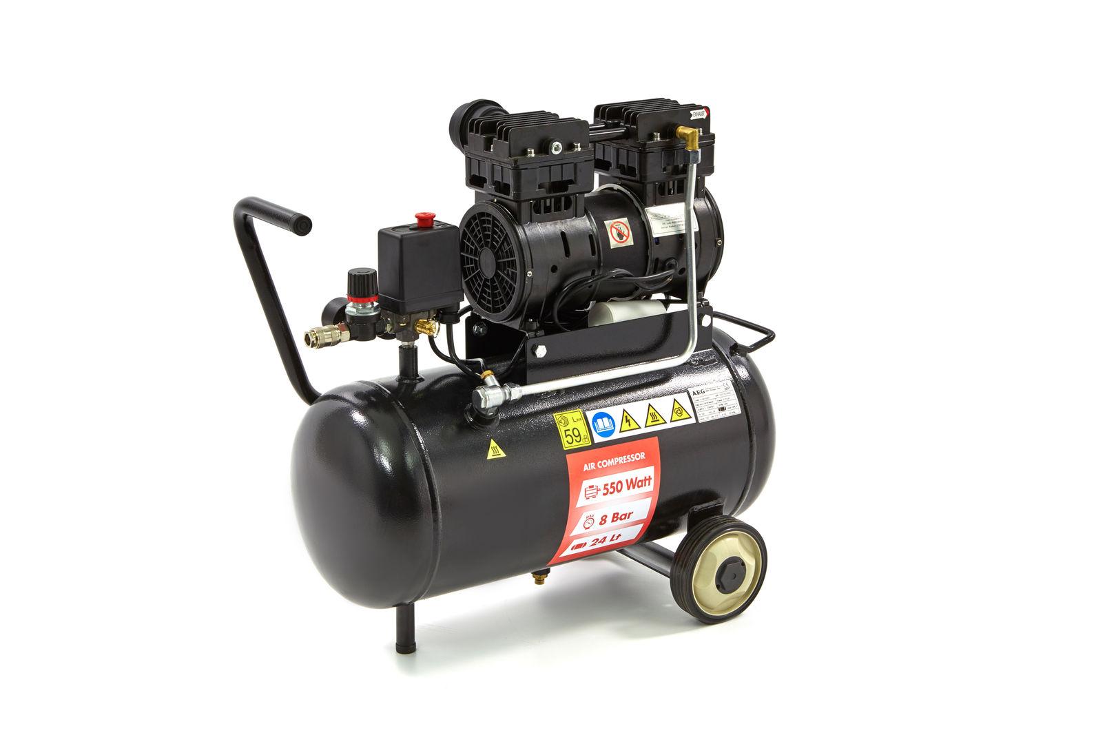 aeg super leiser kompressor mit 24 liter. Black Bedroom Furniture Sets. Home Design Ideas