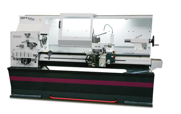 Optimum turn TZ 6222 Premium Leit- und Zugspindeldrehmaschine