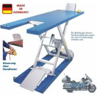 Scherenhebebühne EC - Flat - Lifter EH 600 MADE IN GERMANY !  Farbe Blau